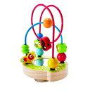 Hape くるくるビーズコースター E8031ベビー玩具 赤ちゃんおもちゃ おもちゃ 玩具 オモチャ カワダ 【TC】