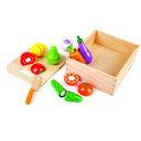 Hape 新鮮お野菜&果物 E8269ベビー玩具 赤ちゃんおもちゃ おもちゃ 玩具 オモチャ カワダ 【TC】