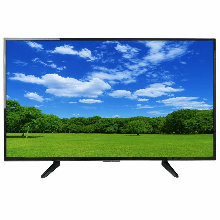 \在庫処分/WIS 43インチ 4K・HD対応 3波液晶テレビ ブラック AS-03KH4302TV送料無料 液晶テレビ 4K 43V 地デジ BS CS 3波 TV ウィズ WIS 【D】