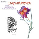 Live With Intention 2020 Calendarの商品画像