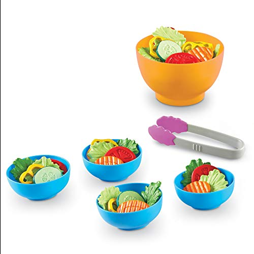Games Kids - Learning Resources New Sprouts Garden Fresh Salad Set Toys New LER9745-D画像