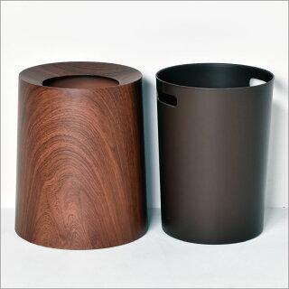 ideacoTUBELOR(チューブラー)ローズウッド(ゴミ箱/ごみ箱/ダストボックス/ごみばこ/おしゃれ/ふた付き/分別/スリム/インテリア雑貨/北欧テイスト/キッチン/かわいい/洗面所/カウンター
