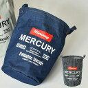 MERCURY マーキュリー canvas bucket M ランドリ...