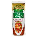 ナガノトマト 国産つぶ野菜入り 信州生まれのケチャップ 295g 着色料・保存料不使用_