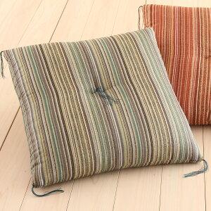 座布団日本製銘仙判55×59cm綿混座ぶとん
