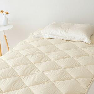 ベッドパッドシングル東京西川西川産業ウォッシャブルウール抗菌防臭ウール100%西川