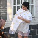 ODOLAND 授乳ケープ 授乳カバー ママカバー  蚊帳機能 ベビーカーカバー 大きめサイズ 上質 マタニテ...