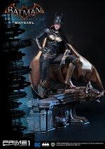 【予約商品】【プライム1スタジオ】【送料無料】ミュージアムマスターライン/バットマンアーカム・ナイト:バットガール1/3ポリストーンスタチューMMDC-14