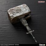 【予約商品】【Gecco(ゲッコウ)】Bloodborne/ハンターズ・アーセナル:教会の石鎚1/6スケールウェポン