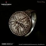 【予約商品】【TORCHTORCH】ダークソウル×TORCHTORCH/リングコレクション:スズメバチの指輪【メンズモデル/19号】