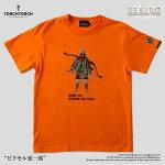 【予約商品】【TORCHTORCH】SEKIRO:SHADOWSDIETWICE×TORCHTORCH/Tシャツコレクション:ピクセル弦一郎オレンジLサイズ