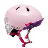 bern(バーン) ヘルメット【NINA PAINT(女の子) :Sサイズ/Mサイズ(51.5〜54.5cm) /フローラル W/MARKERS】 バイザー/ ストライダー 自転車 子供用 キッズ