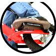 ストライダー オプションパーツ フリースタイル ランチパッド トリック用カスタムパーツ スノーストライダー装着時ブーツでも足を乗せやすくなります【ストライダーPRO以外の全モデル対応】