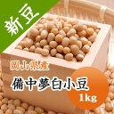 小豆 白小豆 丹波 備中夢白小豆 岡山県産 1kg【令和2年産】