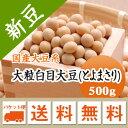 大豆 大粒白目大豆 とよまさり 北海道産 500g【令和2年産】 メール便 送料無料