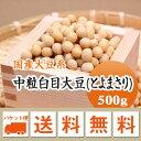 大豆 中粒白目大豆 とよまさり 北海道産 500g【令和1年産】 メール便 送料無料