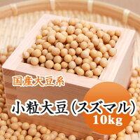 大豆小粒大豆スズマル北海道産10kg【令和2年産】