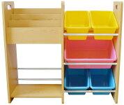MAMENCHI玩具箱&木製ラック