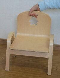 MAMENCHI木製キッズチェア組立済ペンギンナチュラルスタッキングチェア木製イス幼児イス子ども用椅子子ども用イス木製イス子供椅子ローチェアベビーチェア
