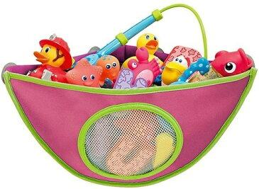 MAMENCHI お風呂トイケース ピンク おもちゃ収納 収納袋 (4つの吸盤があり、吸引力抜群!)簡単に手洗いができます。郵便で発送します。代引きの方はお断りさせていただいております。