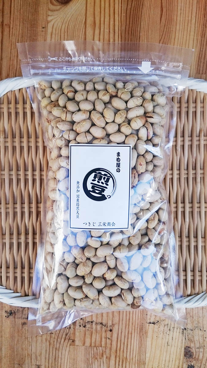 三栄商会『焙煎大豆煎り大豆』