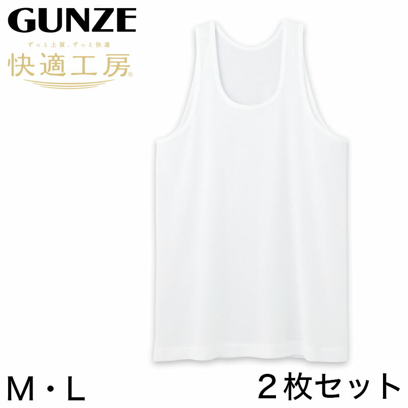 インナー・下着, インナーシャツ  2 ML (GUNZE 100 100 )