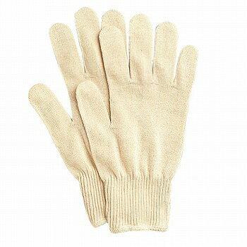 【インナー手袋】ミクローブ13G 下ばき用手袋 10双入×60セット[総数600双] 品番:575 (M・Lサイズ) おたふく手袋 (作業用手袋) 13ゲージ(薄手) 綿100% 吸汗性 肌にやさしい