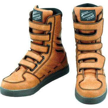 セーフティーシューズ 安全靴 ハイカット おたふく手袋 ワイドウルブス イノベート ワークブーツ