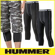 HUMMER ハマー 9023-15 アンダーパンツ 暑さ対策 涼しい 夏用インナー パンツ 七分丈