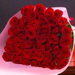本数を選べる赤バラの花束