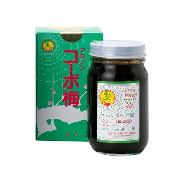 アミノンコーボ梅 250g / 腸内環境 腸内フローラ 対策 / 老化防止 アンチエイジング / 酵母 酵素 食品