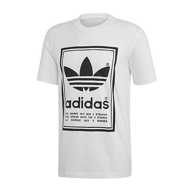 トップス, Tシャツ・カットソー adidas VINTAGE TEE WHITE TED6916 AIS