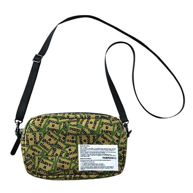 男女兼用バッグ, ショルダーバッグ・メッセンジャーバッグ FABRICK have a good time MINI SHOULDER BAG MILITARY ALLOVER MULTI MLE020-HGT-0010 AJA MEDICOM TOY