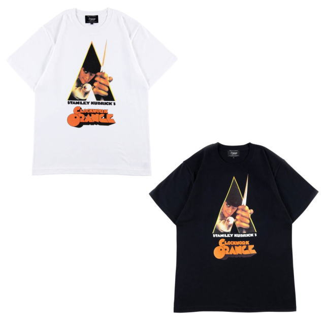 トップス, Tシャツ・カットソー !!SALE!! Sync. TEE A CLOCKWORK ORANGE WHITE,BLACK T18SC-ACO-TE-0001 AIS MEDICOM TOY