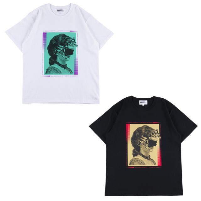 トップス, Tシャツ・カットソー !!SALE!! Sync. KOSUKE KAWAMURA TEE LADY WHITE,BLACK T19SC-KK-TE-0003 AIA MEDICOM TOY