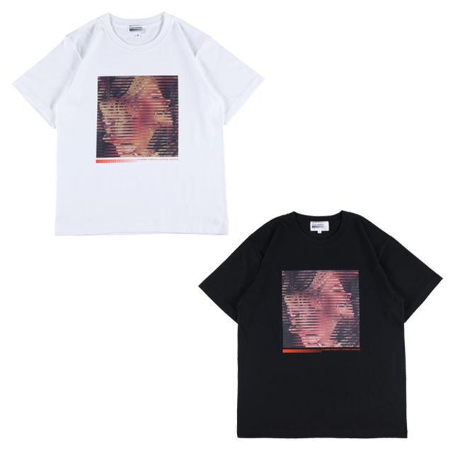 トップス, Tシャツ・カットソー Sync. KOSUKE KAWAMURA TEE ALTERNATE WHITE,BLACK T19SC-KK-TE-0005 AIA MEDICOM TOY