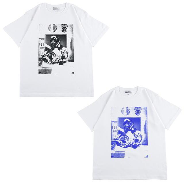 トップス, Tシャツ・カットソー Sync. KOSUKE KAWAMURA TEE CAMERA HEAD WHITEBLACK,WHITEBLUE T20SC-KK-TE-04 AJS MEDICOM TOY