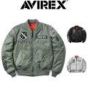 楽天スーパーセール特別価格!!SALE!! AVIREX [アビレックス] MA-1 X-15 [SAGEBLACKL/GREY] MA-1 X-15 フライトジャケット(セージ、ブラック、ライトグレー) 6182234 AHA アヴィレックス