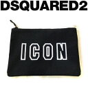 DSQUARED2 [ディースクエアード] ICON CLUTCH B...