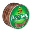 【万能テープ】ダックテープ(ダクトテープ)木目調(ウッド) 48mm×9.1m【アメリカ製(Made in USA)】【DUCKTAPE】