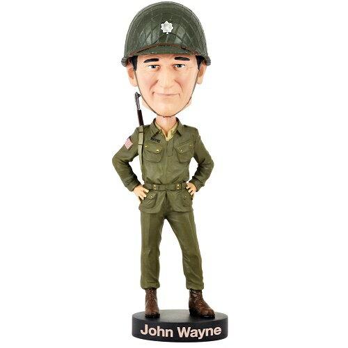 【史上最大の作戦】ジョン・ウェイン ボビングヘッド 大型 ロイヤルボブルズ【Royal Bobbles バンダーボルト中佐】