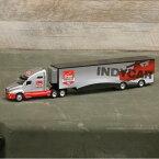 【インディカー】【ミニカー】トレーラー ベライゾン インディカーシリーズ 2015 1/64スケール ダイキャストモデル【INDYCAR Verizon GREEN LIGHT グリーンライト】