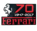 【フェラーリ】【ステッカー シール】 70周年記念 デカール ...