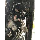 【ハーレーダビットソン】スカルベルハンガー ブラック シルバー【バイク カー用品 ガーディアンベル Harley-Davidson】