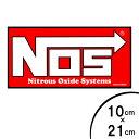 ステッカー NOS Nitrous Oxide Systems ナイトラス・オキサイ...