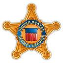 【ステッカー シール】United States secret service アメリカ合衆国シークレットサービス ダイカットデカール 約10cm×10.5cm【高品質 雑貨 サイン カーステッカー】