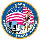 【ステッカー シール】NASA ナサ ケネディ宇宙センター デカール 直径約10cm【Kennedy Space Center ロケット スペースシャトル アメリカ 雑貨 サイン カーステッカー】