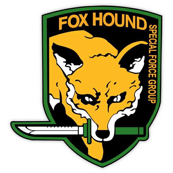 外装・エアロパーツ, ステッカー・デカール  FOX HOUND 11cm10cm SPECIAL FORCE GROUP