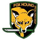 【ステッカー シール】メタルギアシリーズ FOX HOUND フォックスハウンド 猟犬 デカール 約...