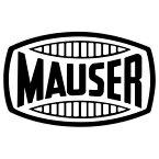 【ステッカー シール】MAUSER モーゼル ロゴデカール 約8cm×12.5cm【ミリタリー マウザー ドイツ 銃器メーカー ピストル 雑貨 サイン カーステッカー】
